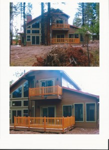 New Cabin back