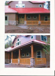 New Cabin front1